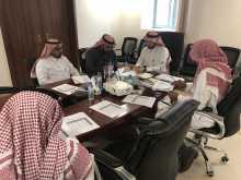 اجتماع فريق المراجعة المالية
